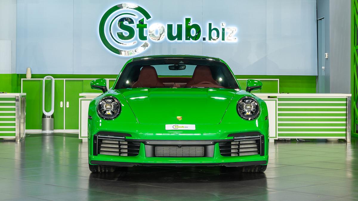 2021 Porsche 911 (992) Turbo S